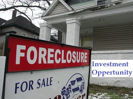 Foreclosure Investment oppertunity