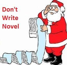 Don't write novel