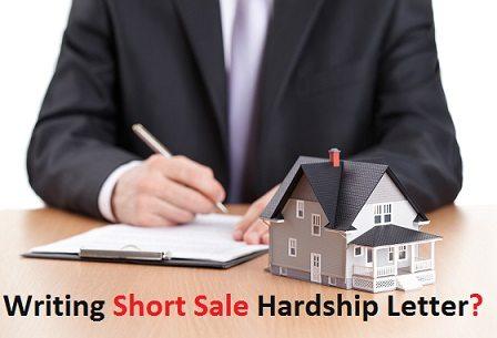 Short sale Hardship letter