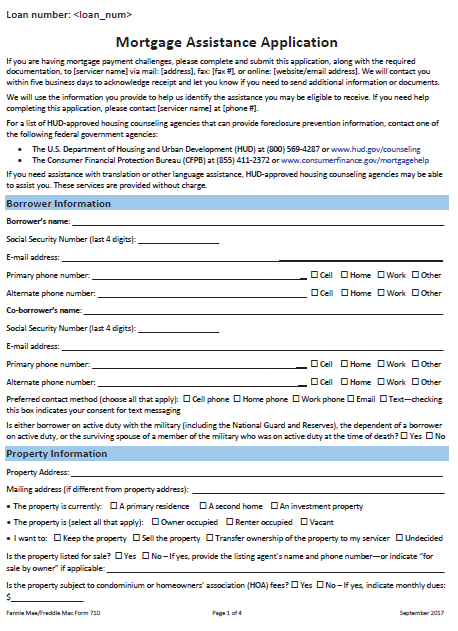 us bank rma loan modification forms, check list, and packagepdf