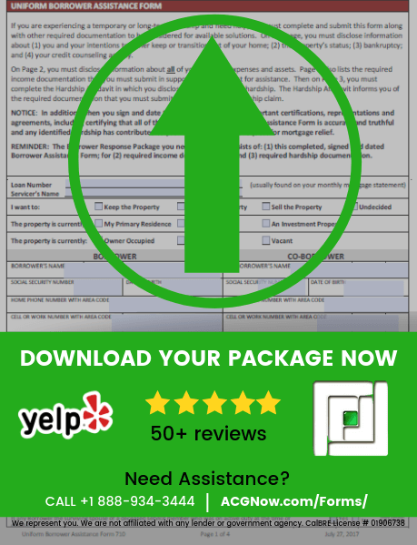 RoundPoint Mortgage RMA Short Sale Package Forms